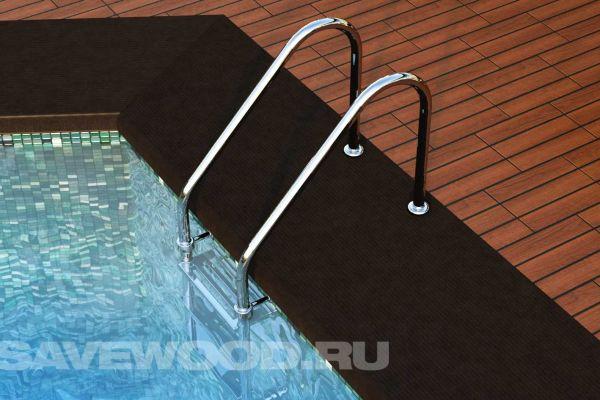 Ступень ДПК для бассейна