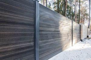 забор из террасной доски SW Fagus