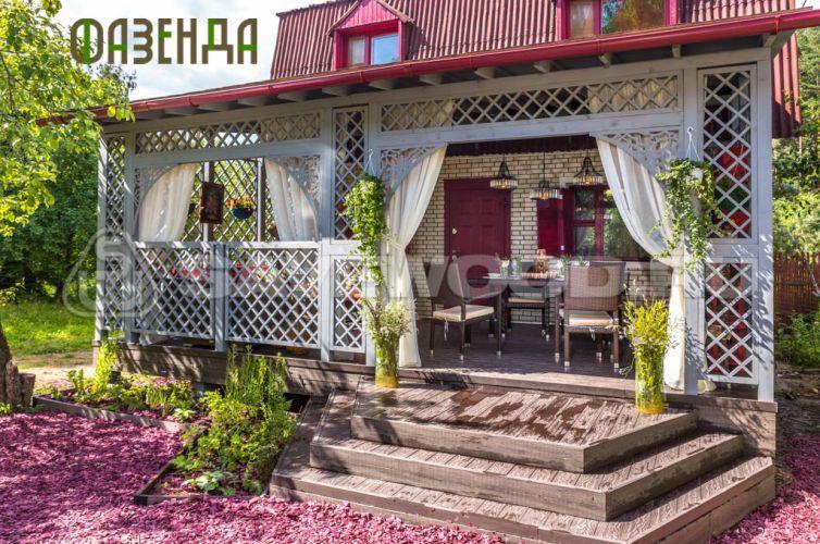 ФАЗЕНДА. Декинг в беседке для отдыха