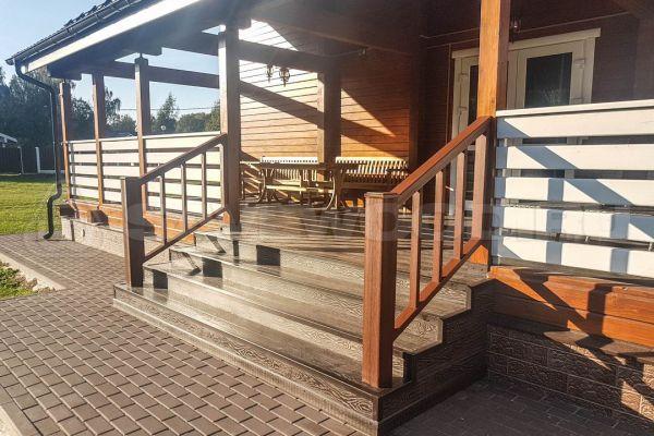 Лестницы из ДПК и декоративное ограждение ДПК