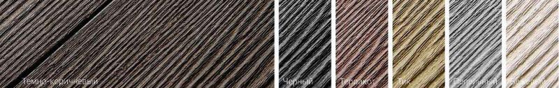 Доска ДПК текстура 3d-тиснение