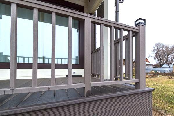 балкон из ДПК