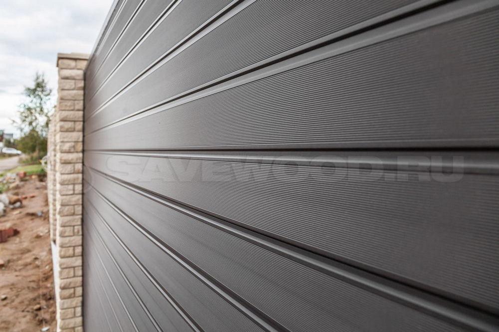 Забор из ДПК доски (2019 год)