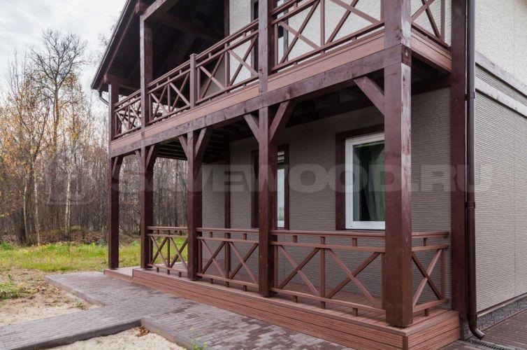 Ограждение балкона и террасы из ДПК (2019 год)